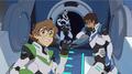 Shiro, Pidge and humiliated Lance are leaving