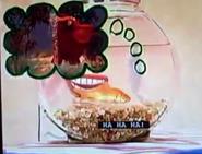 Dorothy in Teeth with Elmo Elephant