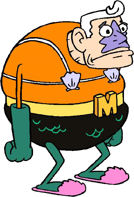 Mermaid Man