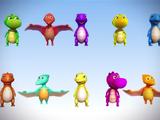 Dinosaurs (KiiYii)