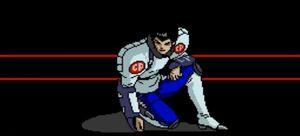 Shunsuke Sengoku Cyber Police Suit
