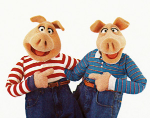 Andy and Randy Pig