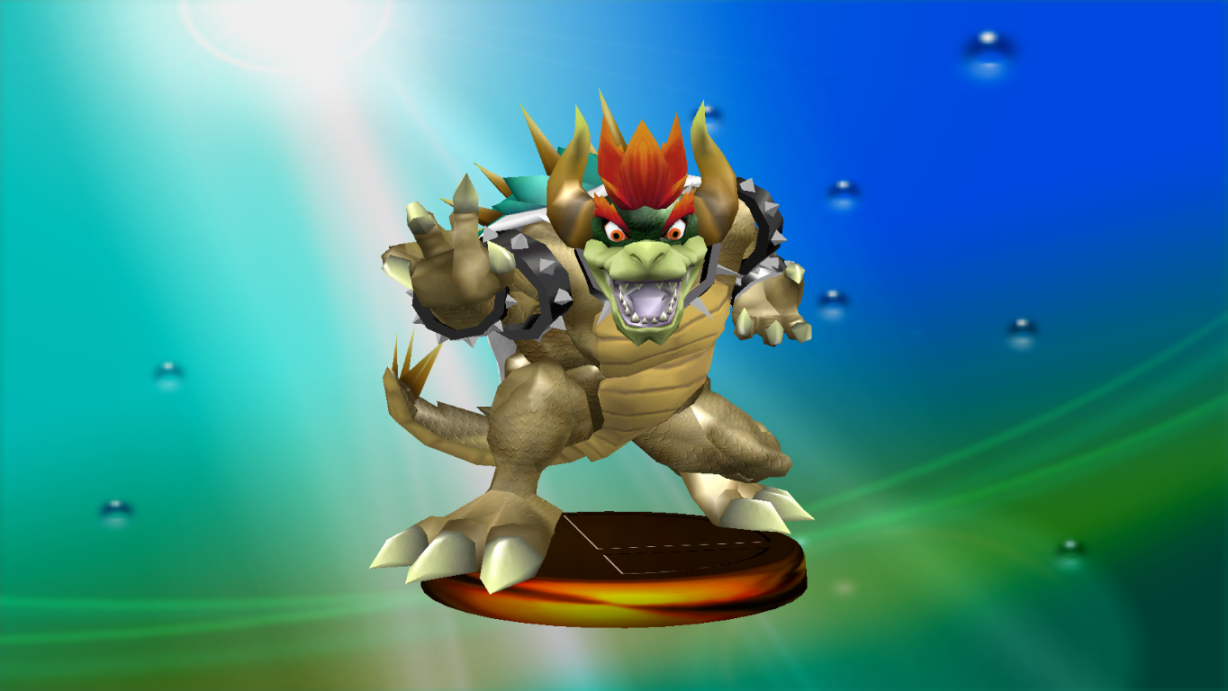 Giga Bowser Through the Years