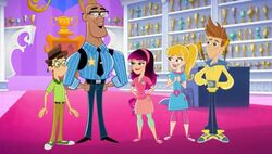 Fresh Beat Band of Spies Commissioner Goldstar The Nickelodeon Nick Jr. Character 2.jpg