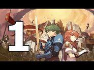 Fire Emblem Echoes Shadows of Valentia Walkthrough Part 1 - No Commentary (Re-Upload)