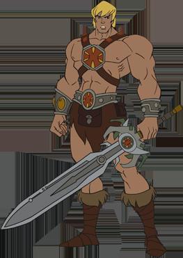 Sword he man Sword of