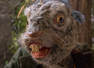 The March Hare as he appears in Dreamchild