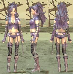 Maria 3D for Metal Max Xeno Reborn