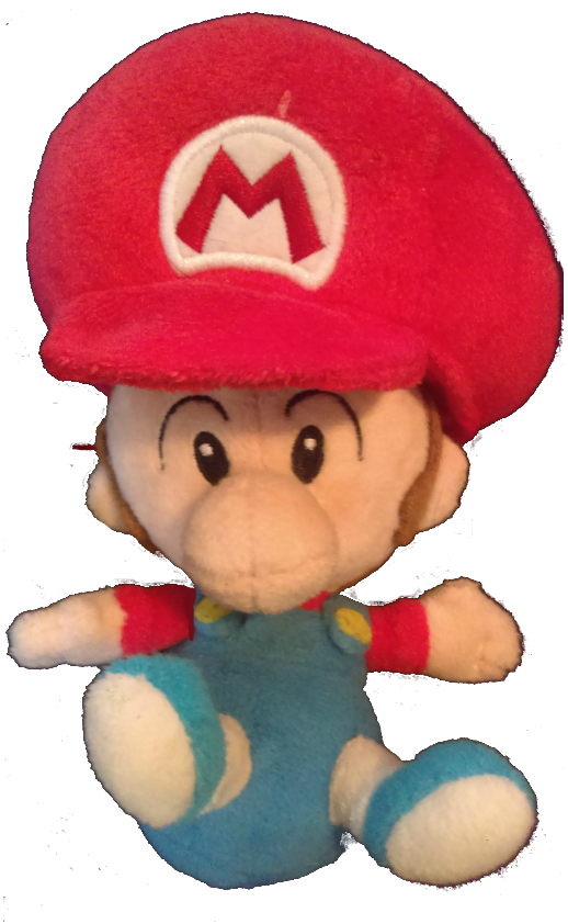 Baby Mario (SuperMario PlushKids)