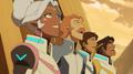 Lance, Hunk, Coran and Allura
