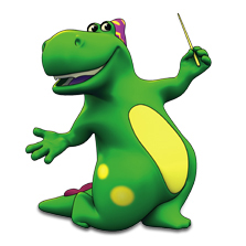 DJ the Dinosaur