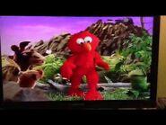 Elmo is a spaz