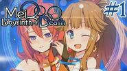 """MeiQ Labyrinth of Death - Walkthrough Part 1 """"First Hour of Gameplay"""" English, Full 1080p HD"""