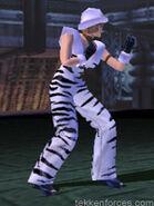 Anna Williams - Zebra Costume (Tekken 3)