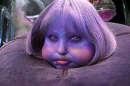 Violet Face Prosthetic
