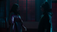 3x14 Mel meets her pregnant version from the future