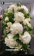 Sarah Jeffery's Instagram Flowers 1