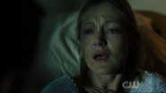 Helen in tears