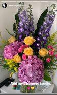 Sarah Jeffery's Instagram Flowers 2