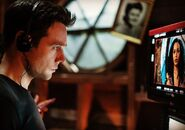 Rupert Evans directing