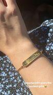 Sarah Jeffery Charmed One bracelet