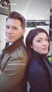 1x05 Constantine Rousouli and Ellen Tamaki