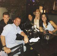 Constantine, Craig, Emmylou, Virginia & Vanessa - Behind the Scenes