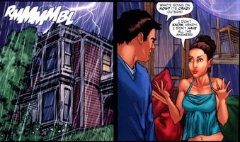 Henry and Phoebe in the comic