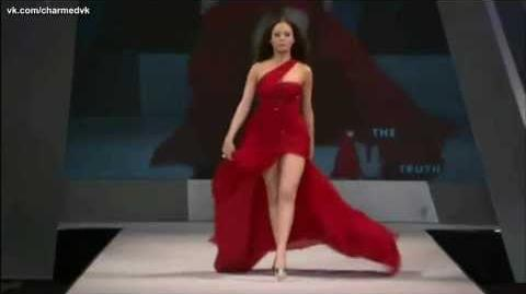 Rose McGowan The Heart Truth's Red Dress Collection 8 Feb 2012