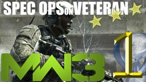 Modern Warfare 3 Spec Ops on Veteran Stay Sharp
