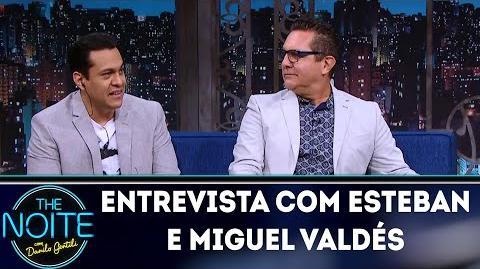 Entrevista com Esteban e Miguel Valdés The Noite (09 05 18)