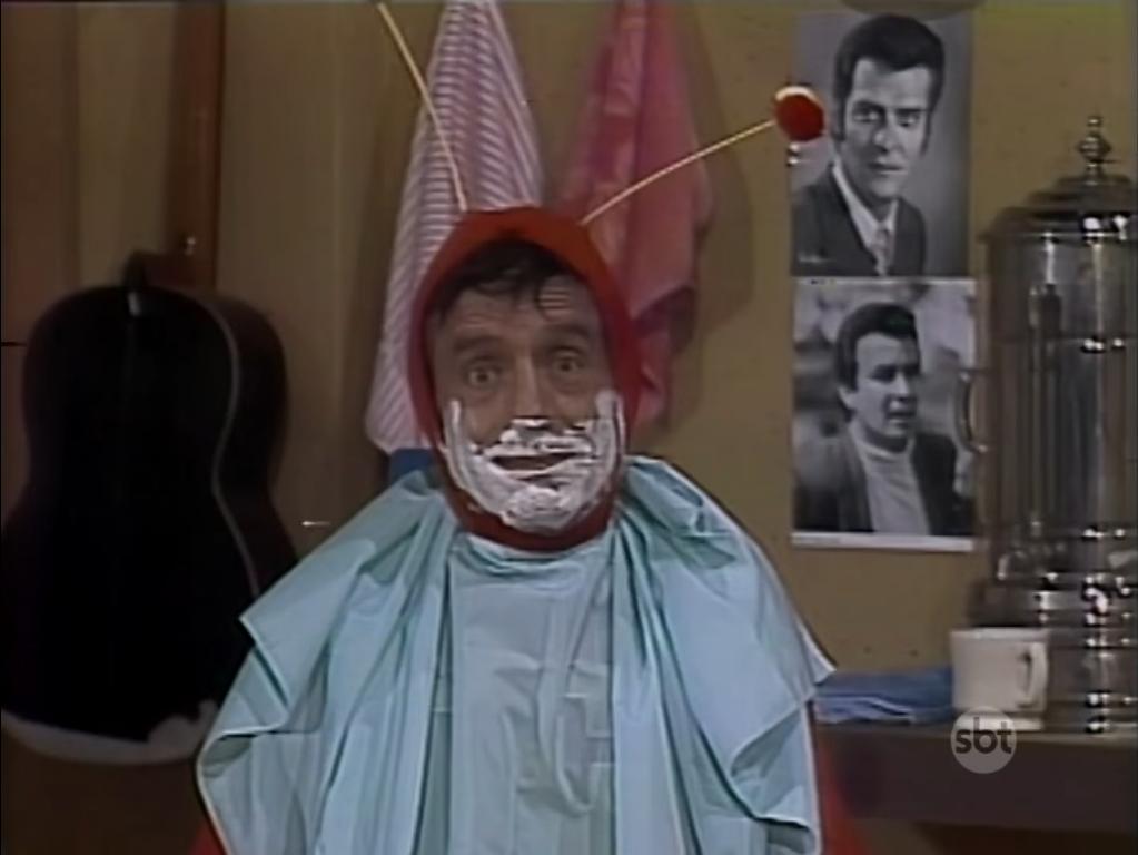Na barbearia, é fácil ficar parado!