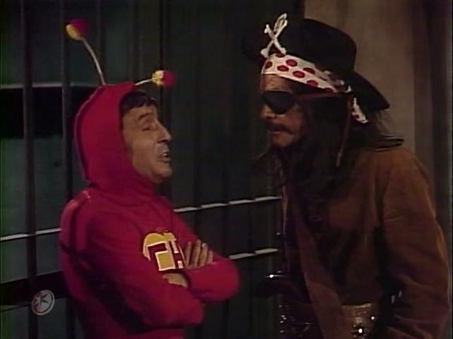 Os piratas do Caribe - parte 1