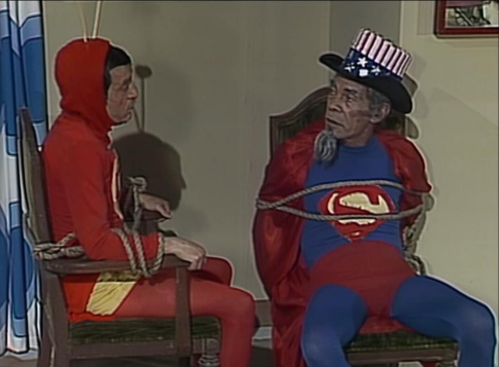 Dr. Chapatin e as Melancias/A Volta do Super Sam