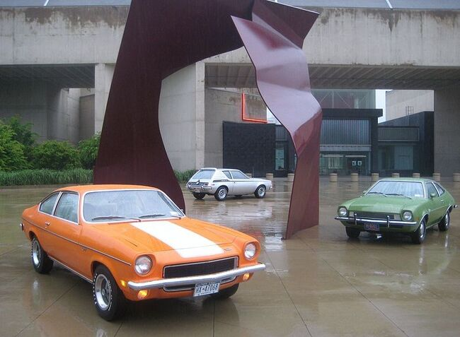 Vega GT, Gremlin X, Pinto.jpg