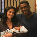 Boden Family - Donna Holding Terrance With Wallace