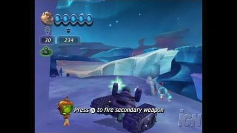 Chicken Little Ace in Action Nintendo Wii Clip - Tank