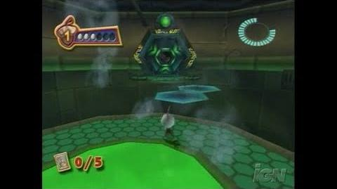 Chicken Little GameCube Gameplay - Inside The Space Ship