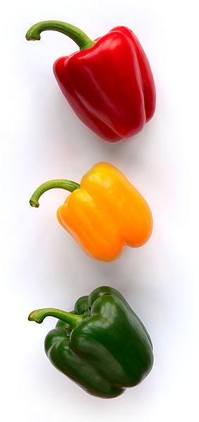 appx 150 Italian Bell Pepper Seeds Vegetable Big Fruit More Verities Red Asti