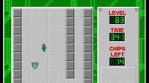 Chip's_Challenge_1_level_83_solution_-_297_seconds