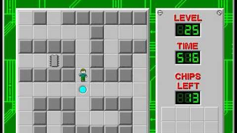 Chip's_Challenge_1_level_25_solution_-_435_seconds