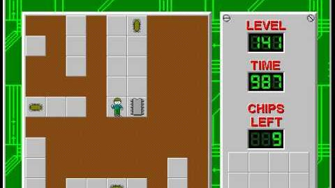 Chip's_Challenge_1_level_141_solution_-_968_seconds
