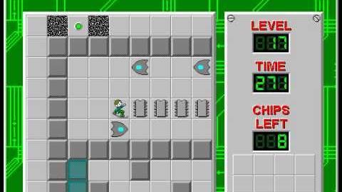 CCLP2 level 17 solution - 256 seconds