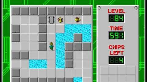 Chip's_Challenge_1_level_84_solution_-_580_seconds