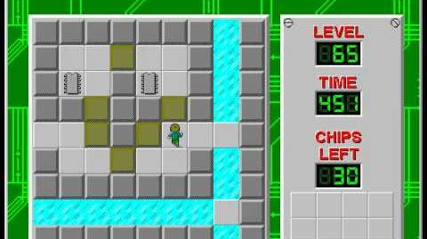 Chip's_Challenge_1_level_65_solution_-_395_seconds