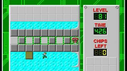 CCLP2 level 81 solution - 346 seconds