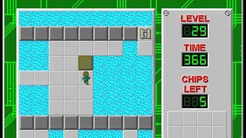 Chip's_Challenge_1_level_29_solution_-_302_seconds
