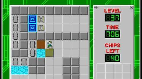 Chip's_Challenge_1_level_37_solution_-_597_seconds