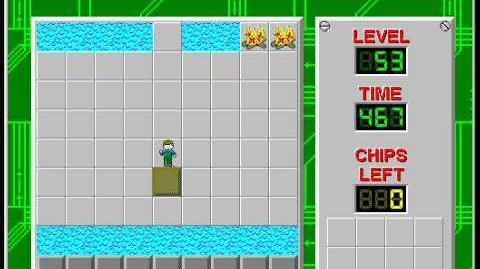 Chip's_Challenge_1_level_53_solution_-_449_seconds