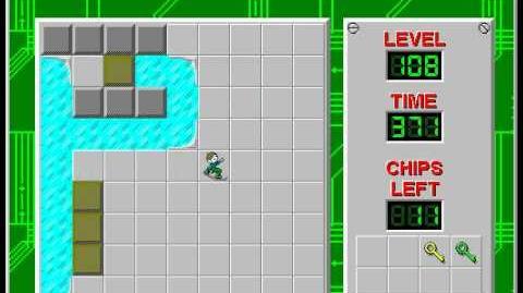 CCLP2 level 108 solution - 344 seconds